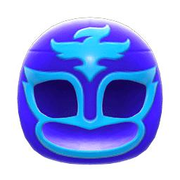 プロレスのマスク青水