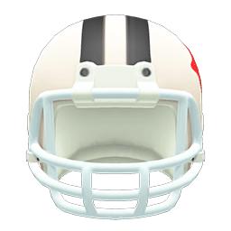 アメフトヘルメット白黒
