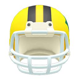 アメフトヘルメット黄黒