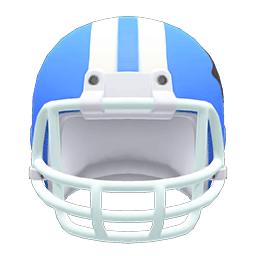 アメフトヘルメット青白