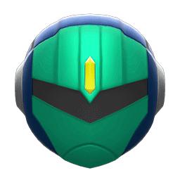 パワードメット青緑