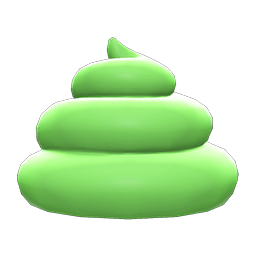 ソフトクリームなぼうし緑緑