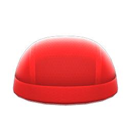 すいえいキャップ赤赤