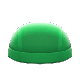すいえいキャップ緑緑