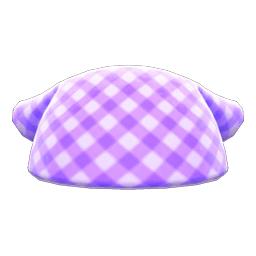さんかくきん紫白