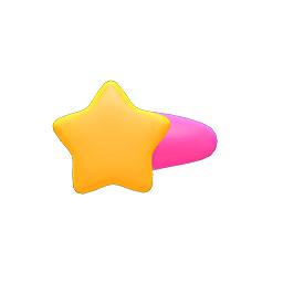 ほしのかみかざり黄ピンク