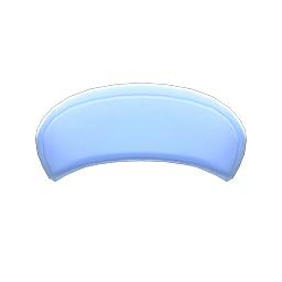 ナースキャップ青青