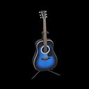 アコースティックギター青黒