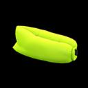 エアーソファ黄黄