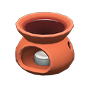 アロマポット茶オレンジ