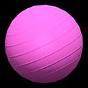 バランスボールピンクピンク