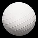 バランスボール白白