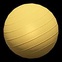 バランスボール黄黄