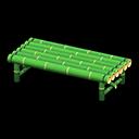 たけのベンチ緑緑
