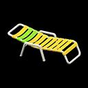 ビーチベッド黄緑