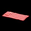 ビーチタオル赤白