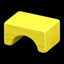 つみきスツール黄黄