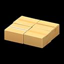 ダンボールテーブル黄黄