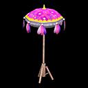 カーニバルなパラソル紫ピンク