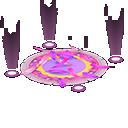 カーニバルなステージ紫ピンク