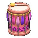 カーニバルなパーカッション紫ピンク