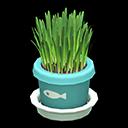 ネコぐさ水緑