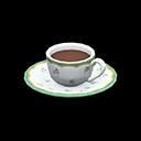 コーヒーカップ白緑