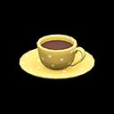 コーヒーカップ黄黄