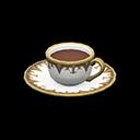 コーヒーカップ白茶