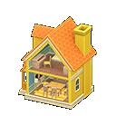 ドールハウスオレンジ黄