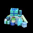 プレゼントのやま水緑