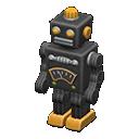 ブリキのロボット黒黄