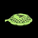 ブーブークッション緑グレー