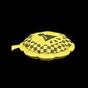 ブーブークッション黄グレー