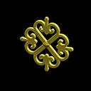 アイアンなドアプレート黄黄