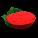 バラのベッド赤緑