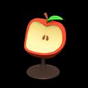 リンゴのチェア赤黄