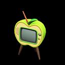 リンゴのテレビ緑黄