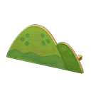 ハリボテのやま緑緑