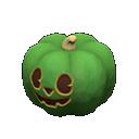 ハロウィンなランタン緑緑
