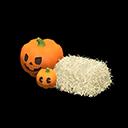ハロウィンなランタンセットオレンジベージュ