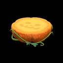 ハロウィンなテーブルオレンジ緑