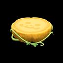 ハロウィンなテーブル黄緑
