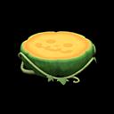 ハロウィンなテーブル緑オレンジ