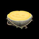 ハロウィンなテーブル白黄