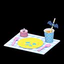 ハロウィンテーブルセッティング水黄