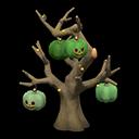 ハロウィンなツリー茶緑