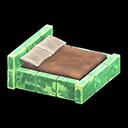 こおりのベッド緑茶