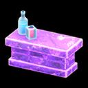 こおりのカウンター紫紫