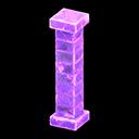 こおりのはしら紫紫